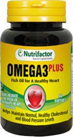 Nutrifactor Omega 3 Plus 60 Tablets