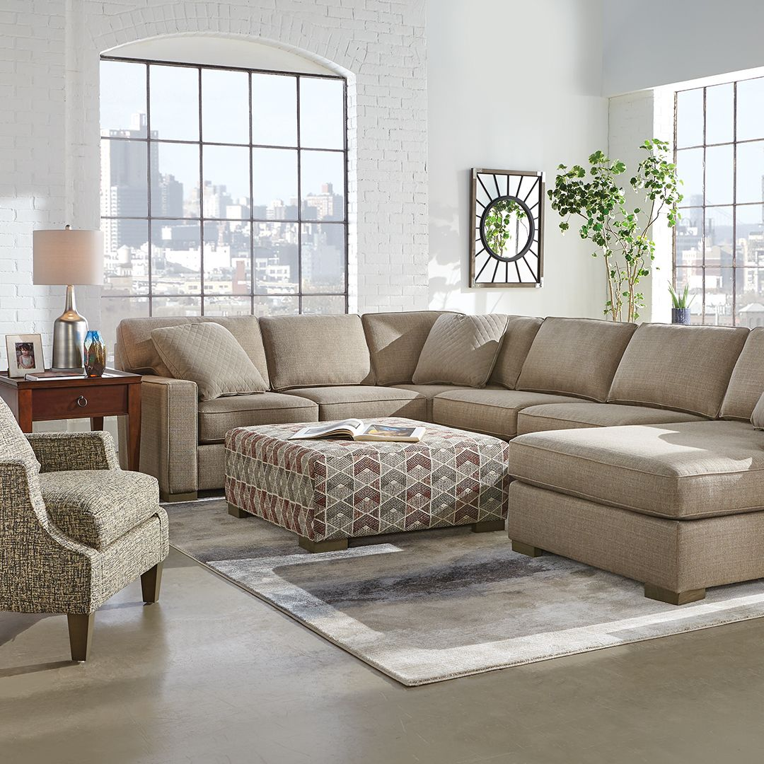 Griswold 3 Piece Left Arm Facing Chaise Sectional In 2019
