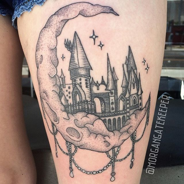 kind of a difficult piece to photograph hogwarts is healed then the moon beading is fresh. Black Bedroom Furniture Sets. Home Design Ideas