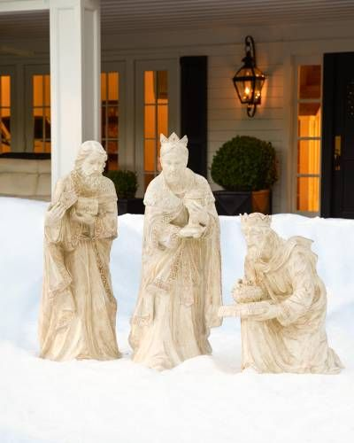 Outdoor Nativity Set