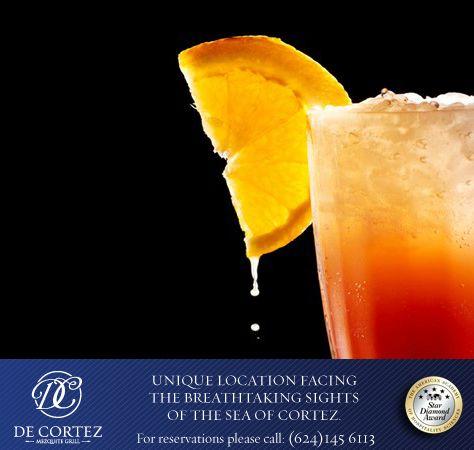 Tequila Sunrise   Ingredientes 1 ½ oz. Tequila  6 oz. Jugo de naranja 1 dash de granadina Modo de preparación En un vaso Collins se sirven los hielos, después se pone el dash de granadina, el tequila y al final el jugo de naranja. Decoración Rodaja de naranja  #DCCocktail