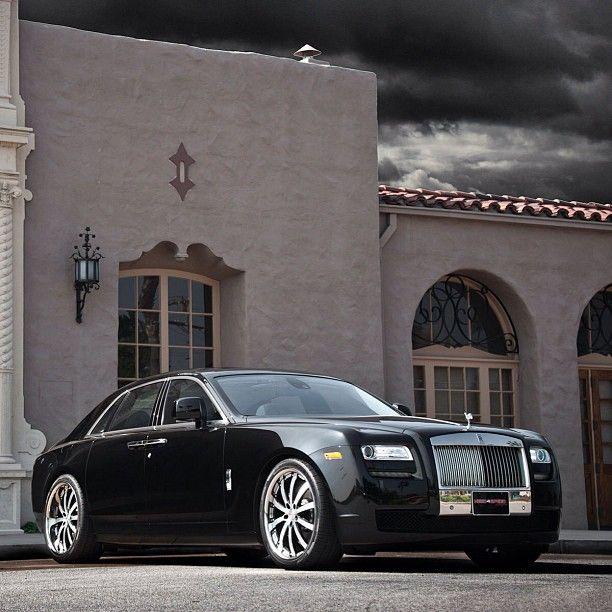 Rolls Royce Ghost On This Mystical Evening Rolls Royce Dream Cars Luxury Cars