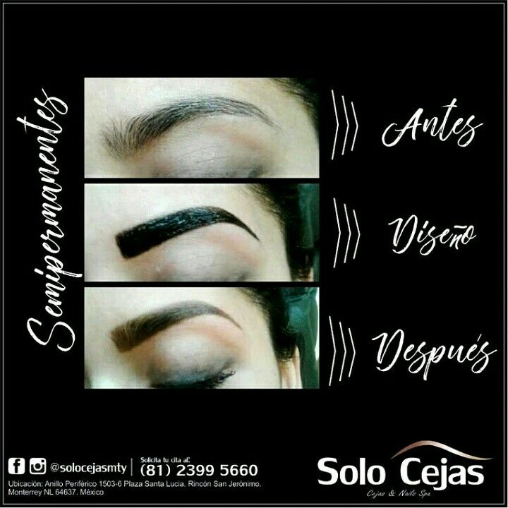 Pin On Cejas Semipermanentes