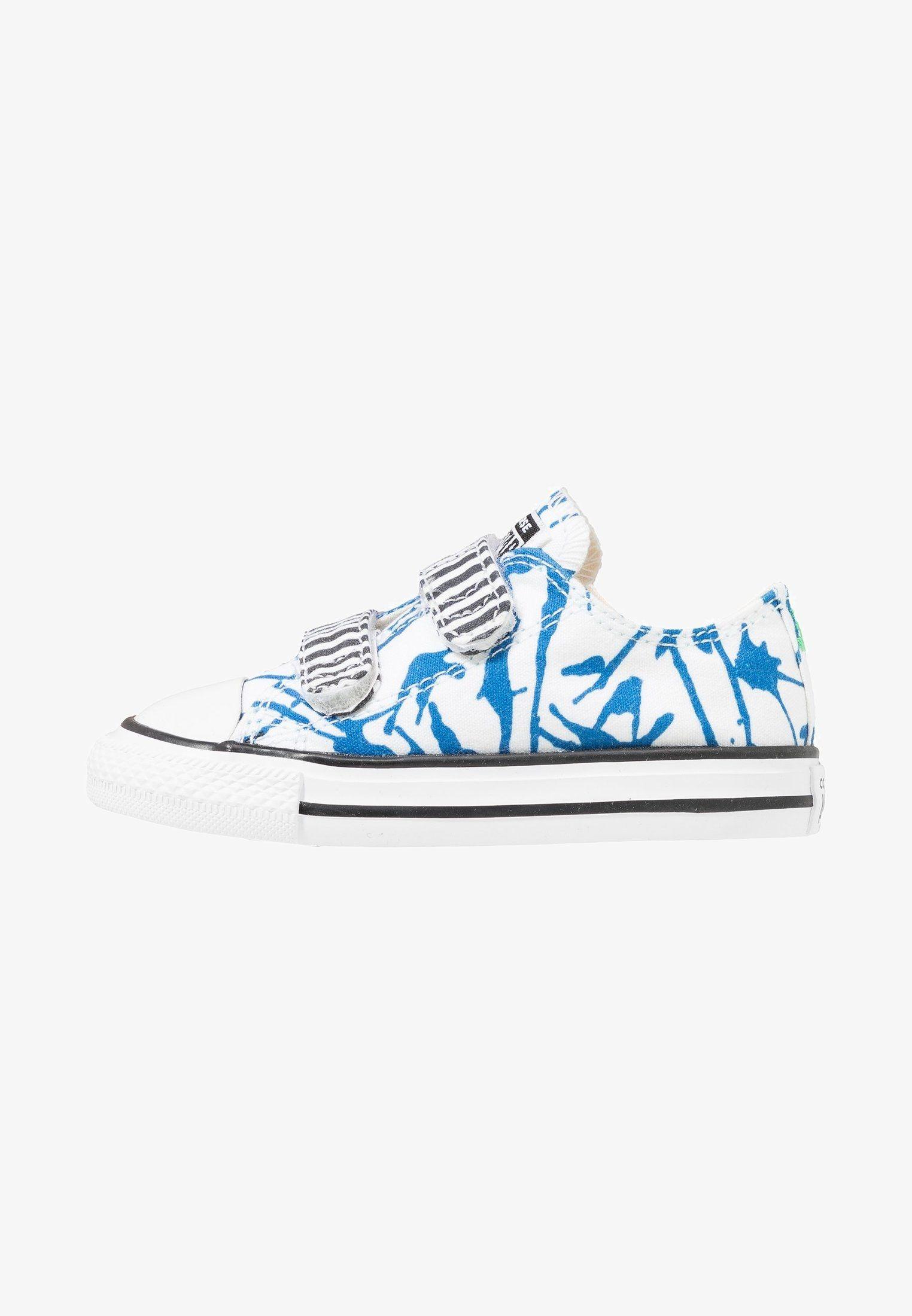 e84ebe5bdd1 Converse CHUCK TAYLOR ALL STAR - Sneaker low - white/skydiver/black -  Zalando