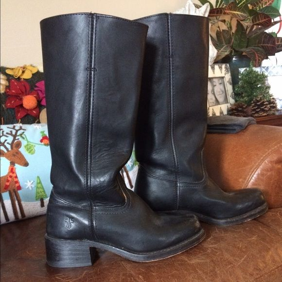 Frye campus 14L Gently used Frye Shoes Combat & Moto Boots