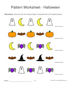 halloween pattern worksheets for kids 1 2 pattern draw. Black Bedroom Furniture Sets. Home Design Ideas