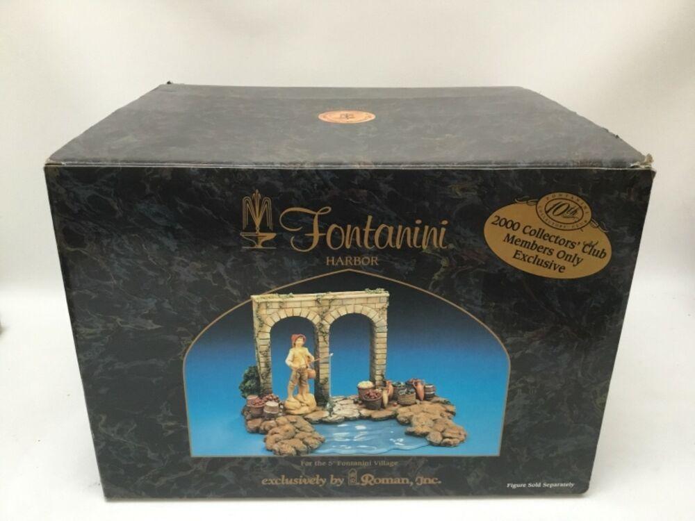 eBay #Sponsored Fontanini Nativity Village 5 Harbor in Box Collectors  Exclusive 2000 Roman