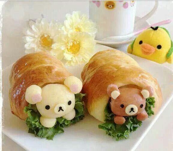 Funny food lustiges essen f r gross und klein creativ zubereitet funny food cute food - Kawaii kochen ...