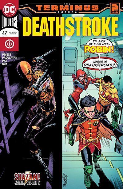 Deathstroke Cover Dc Comics Deathstroke cover ; todesschlagabdeckung ; couverture de deathstroke ;