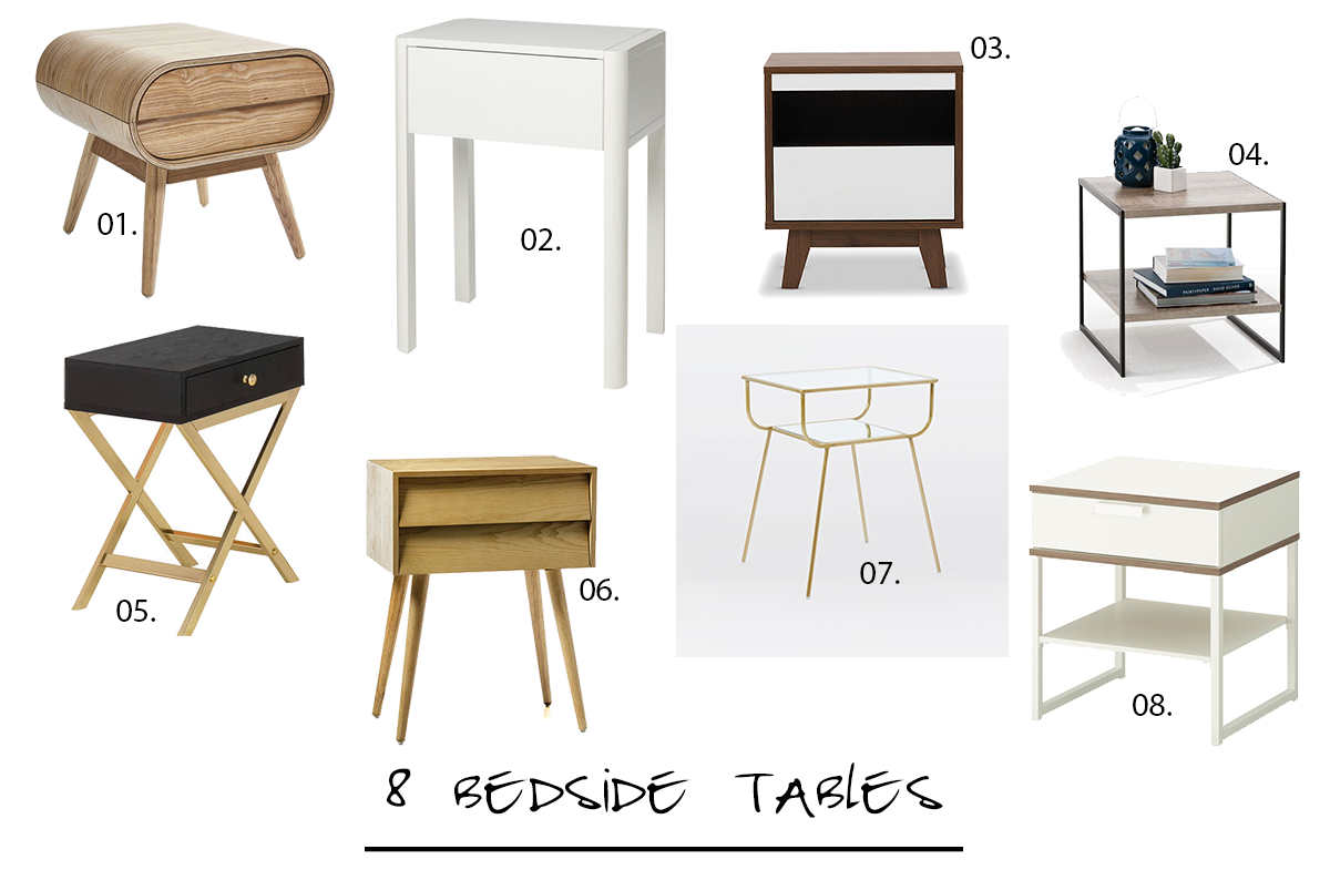 8 bedside tables you might like Table, Home decor, Furniture
