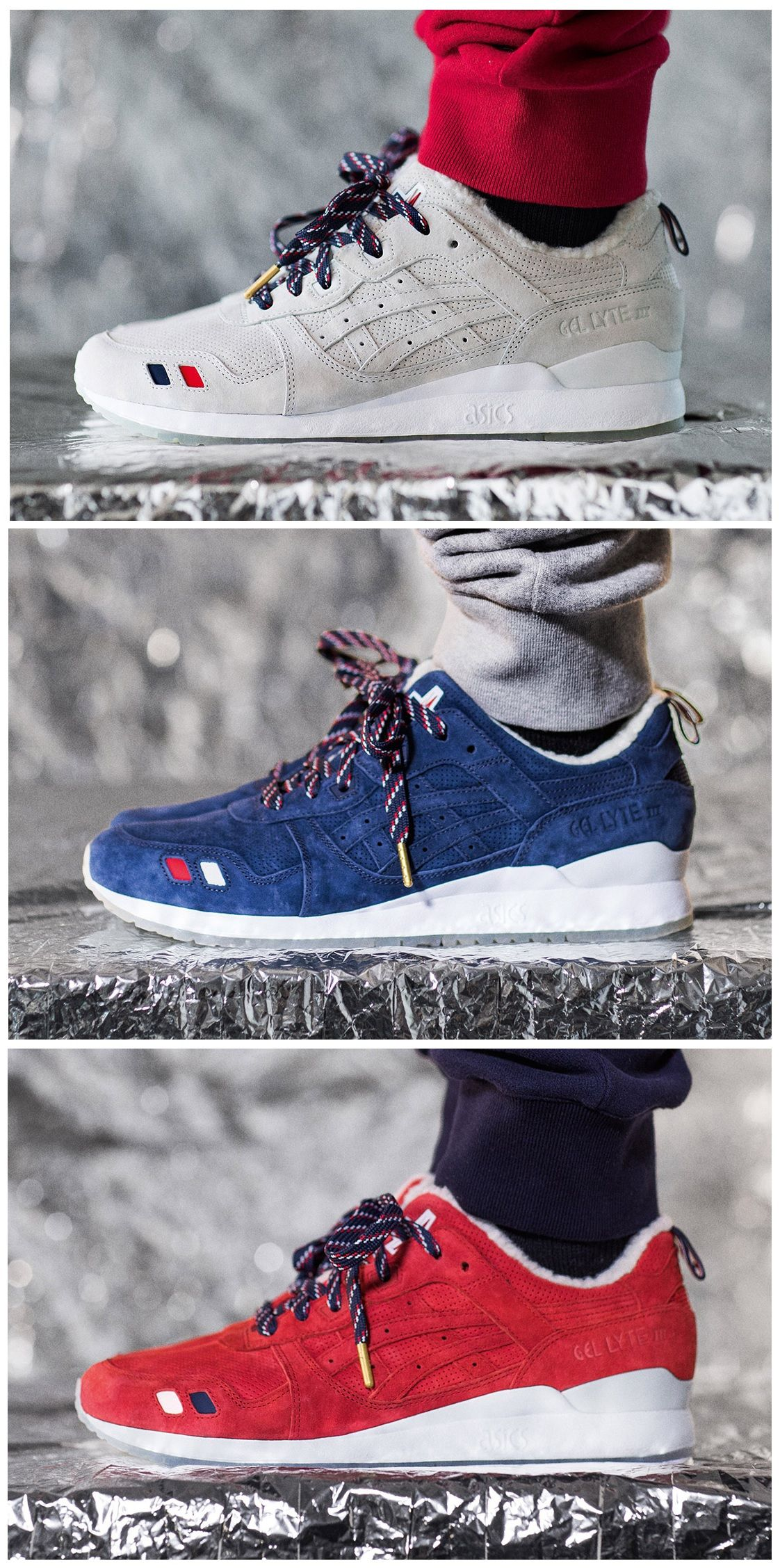 huge selection of 8420a 1bd96 Moncler x KITH x Asics Gel Lyte III