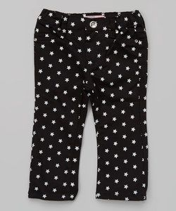 Crest Sport Pink Polka Dot Cropped Pants - Infant | zulily