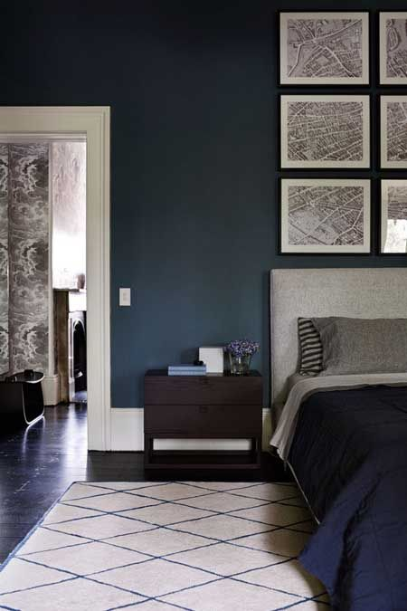 Modern Masculine Design The New Bachelor Pad Blue Bedroom Walls Blue Bedroom Ideas For Couples Blue Bedroom Decor