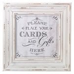 Cards Sign Frame (White)