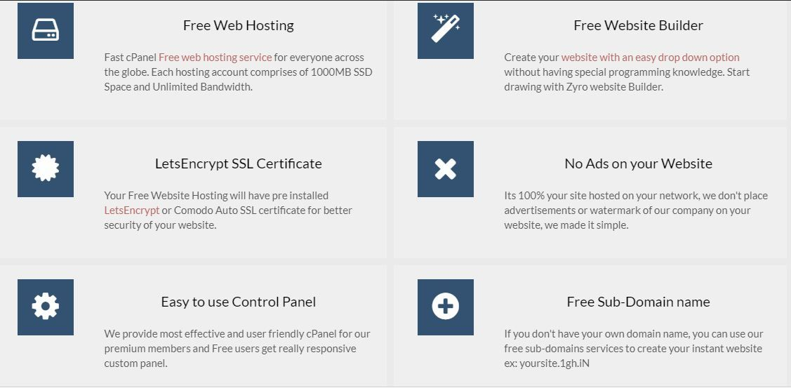 GoogieHost One of the leading Free Web Hosting In India