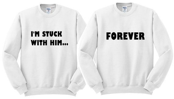 b36df0cb Couple engagement shirts. Matching couple sweatshirt. His and her shirts.  Bride groom wedding shirts. Newlywed shirts. Wedding couple gifts.