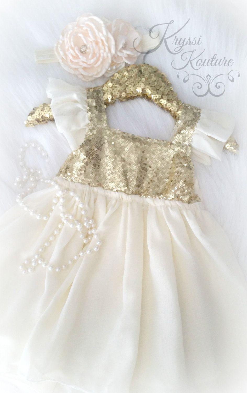 37++ Gold infant dress ideas in 2021