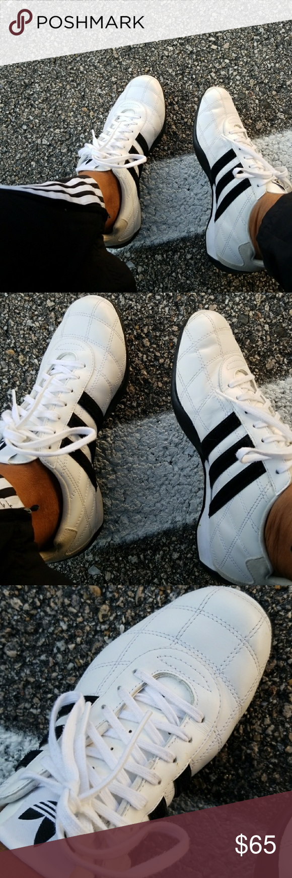 Selling this Adidas Tuscany Goodyear vintage sneakers on ...