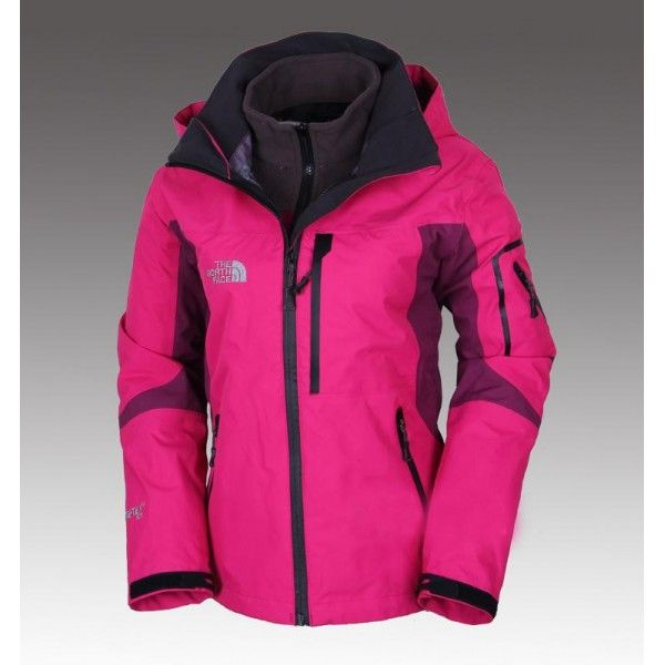 a9e966297 The North Face Women's Gore-Tex 3 in 1 Triclimate Jacket Pink ...