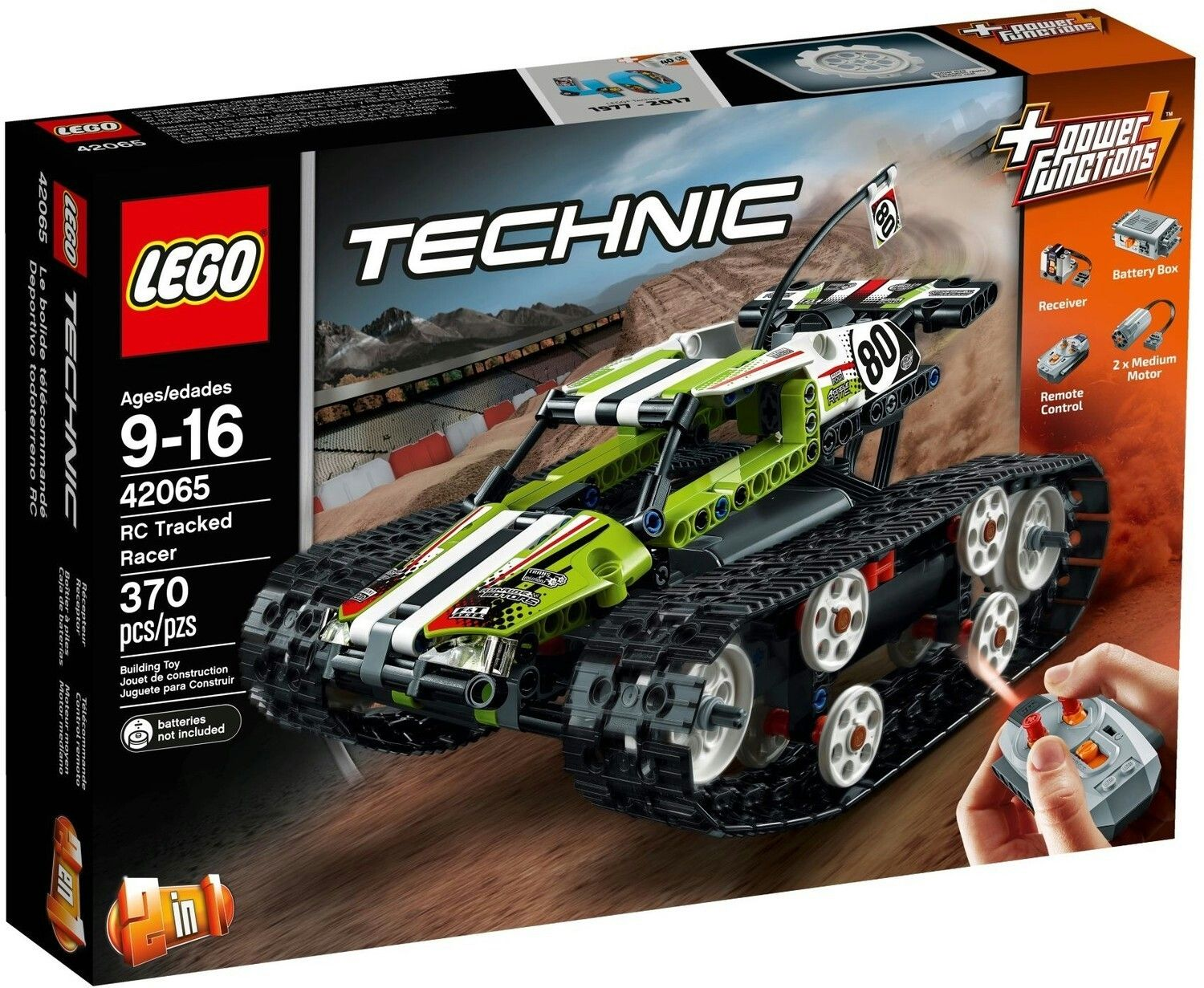 Rc Tracked Racer Rc Track Lego Technic Lego