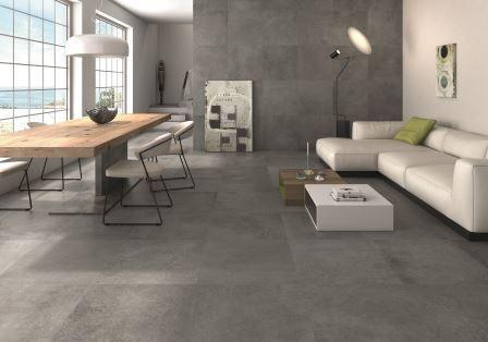 Pvc laminaat betonlook. best elegant black xl click with pvc