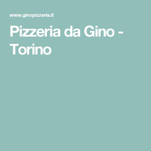 Pizzeria da Gino - Torino