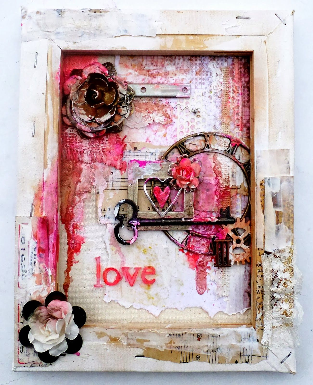Altered Canvas Altered Art Altered Canvas Art Journal