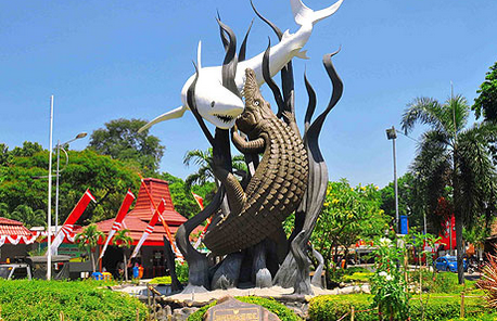 Contoh Descriptive Text Kota Surabaya Dalam Bahasa Inggris Beserta Artinya Monumen Surabaya Indonesia