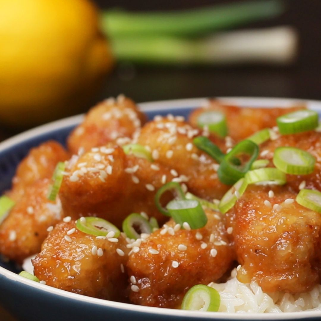 Chinese Take-Away-Style Lemon Chicken Recipe by Ta