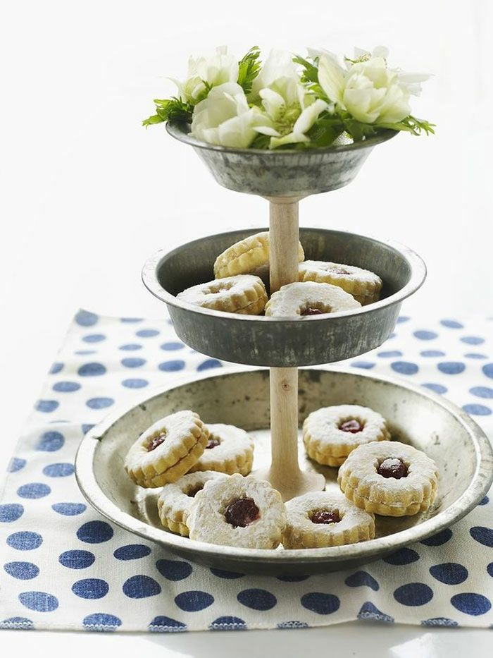 Diy Pie Tin Cake Stand From Sweet Paul What A Great Idea To Reinvent Your Old Tins That Are Just Colleting Dust In The Back Of Closet