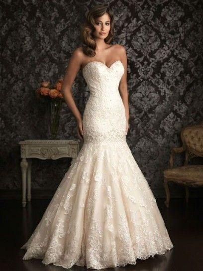 vestidos de novia corte sirena - Buscar con Google | Wedding Dresses ...