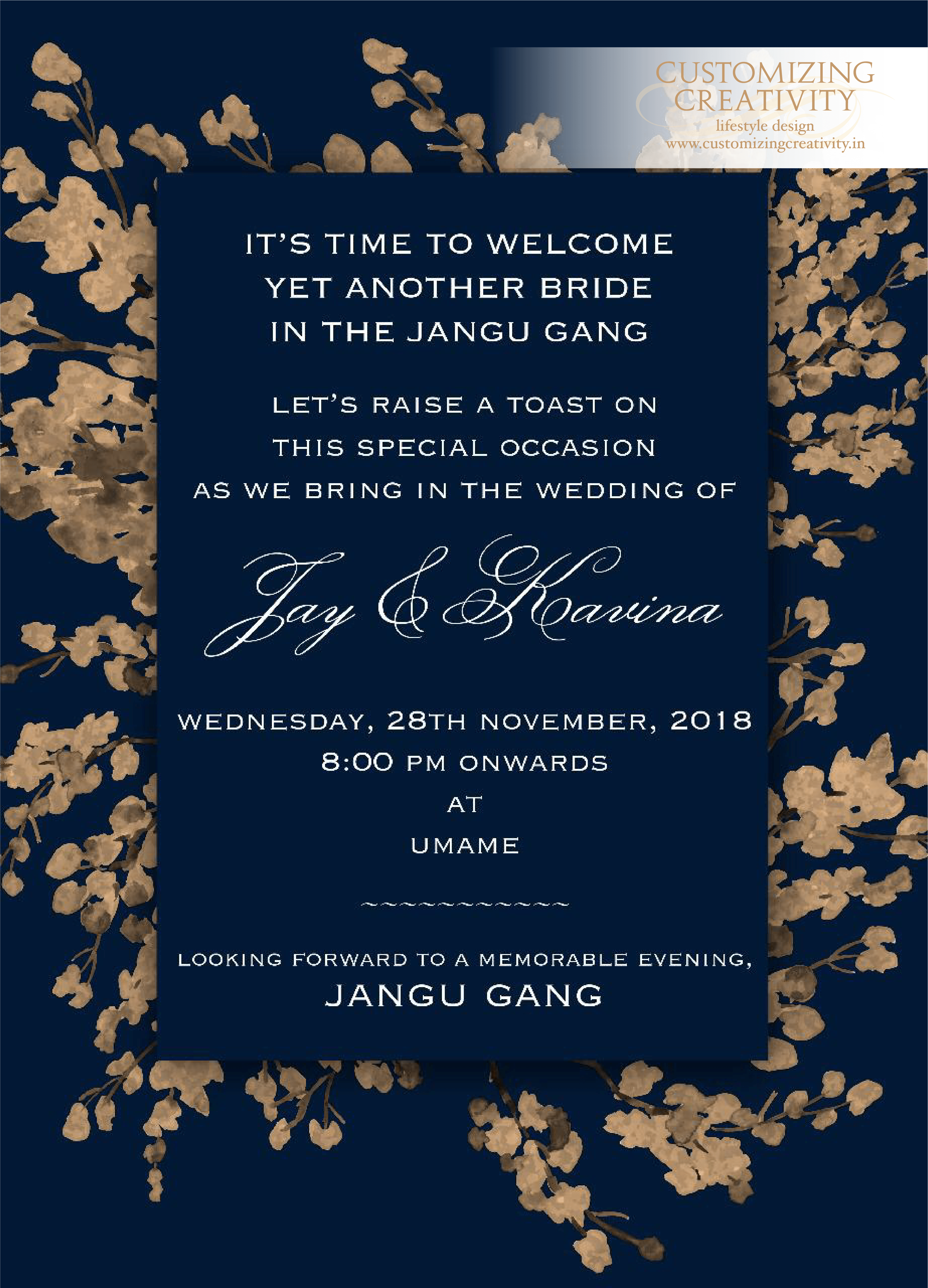 Wedding Invitation Cards Indian