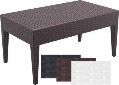 Design Garten Beistell Tisch MIAMI, Kunststoff, Rattan Optik, Stapelbar,  Sonnenliegen Beistelltisch Höhe 45 Cm Jetzt Bestellen Unter: ...