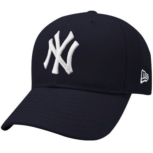 e47bd3d9341 New Era New York Yankees Youth Navy Blue Pinch Hitter Hat by New Era.   14.95. Adjustable hook and loop fastener strap. Six panels with eyelets.