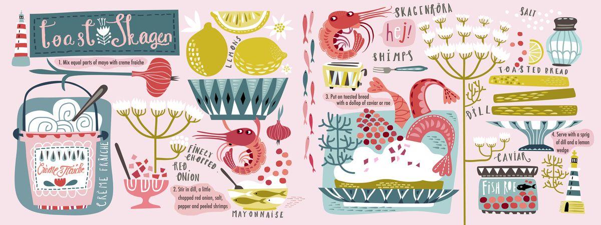 Toast Skagen (Skagenröra) by Asa Gilland