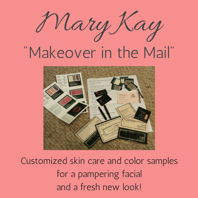 Mary Kay makeover in the mail. Great for anyone who doesn't live ...