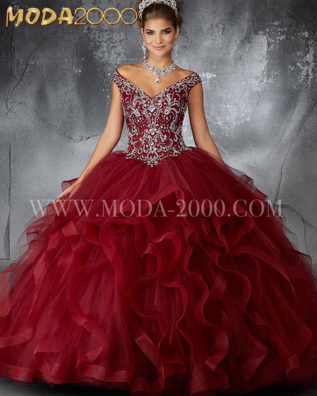 Sangria Burgandy Quinceanera Sweet16 Dress With Ruffles Pretty Girl Dresses Quince Dresses Quinceanera Dresses [ 1350 x 1080 Pixel ]