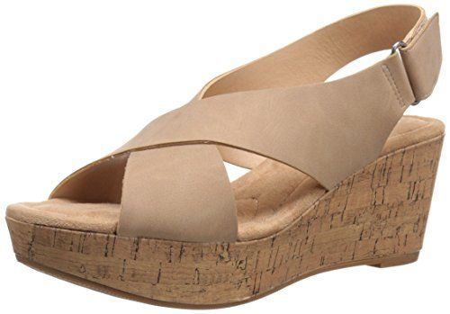 Cl By Chinese Laundry Women S Dream Girl Nubuck Wedge San 51 61