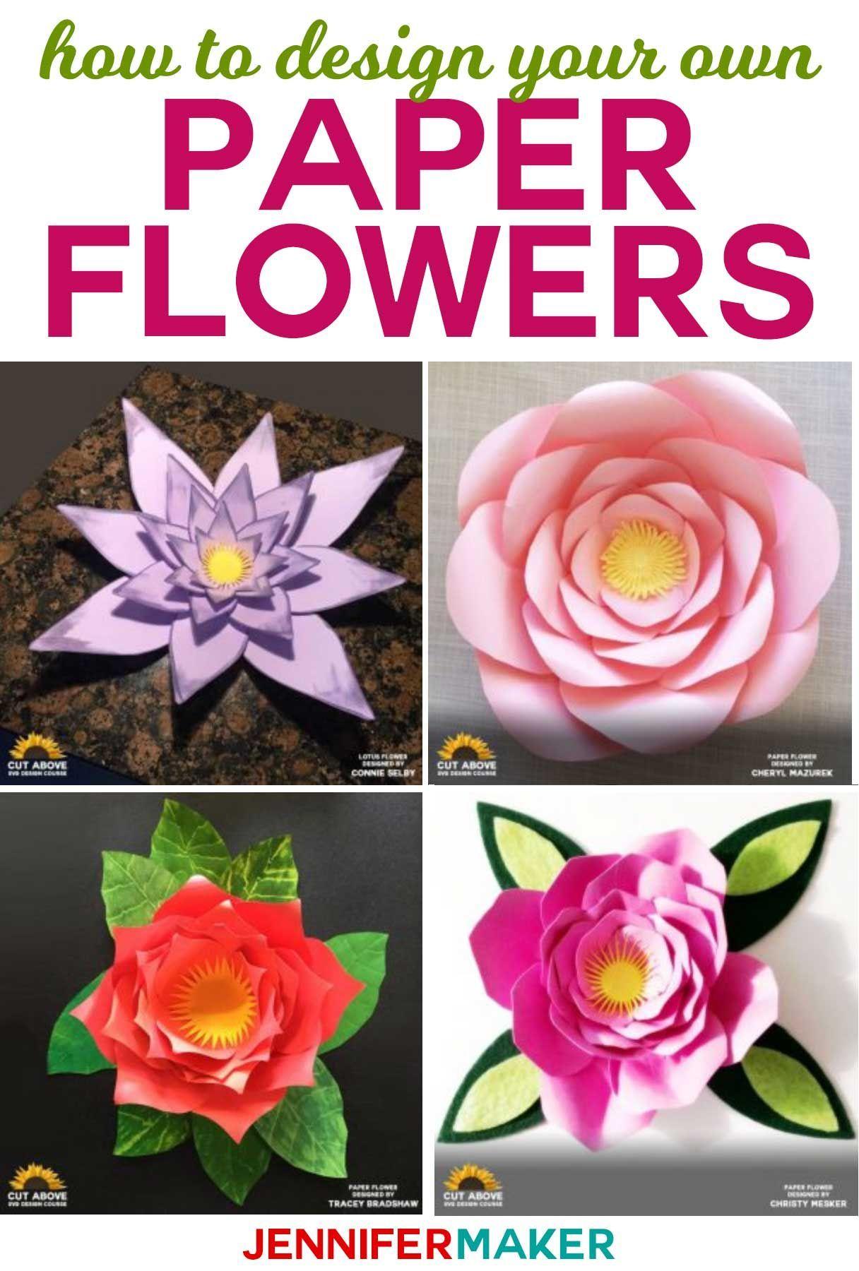 Paper Flower Designs That Will Blow You Away Flor Pinterest