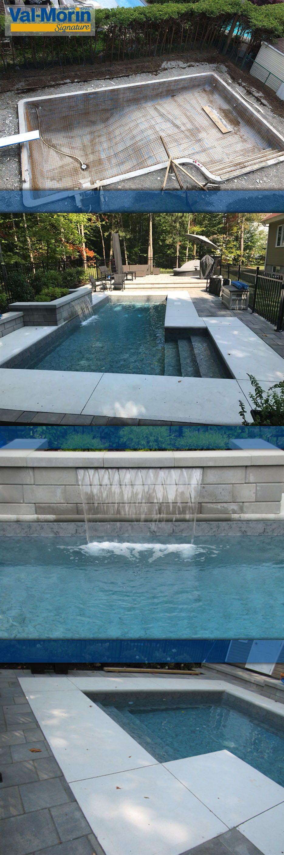 Piscines Es & Spas piscine creusée signée piscines val-morin signature