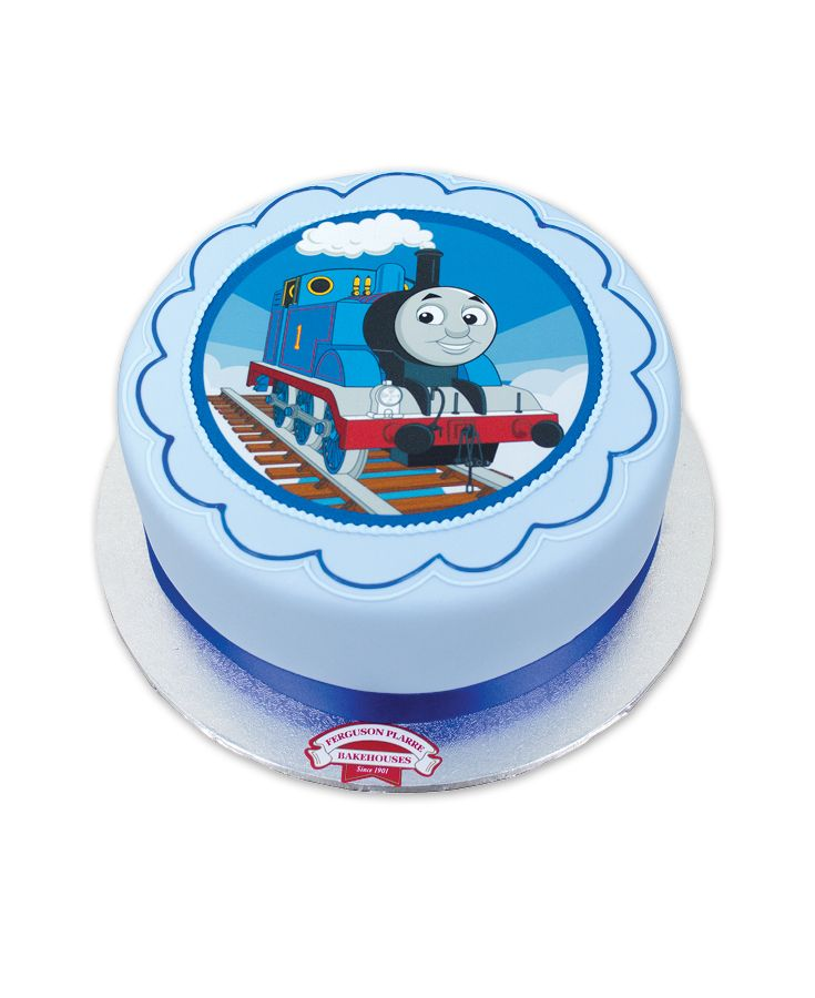 Thomas the Tank Engine Cakes Alive cake triggers the Fireworks