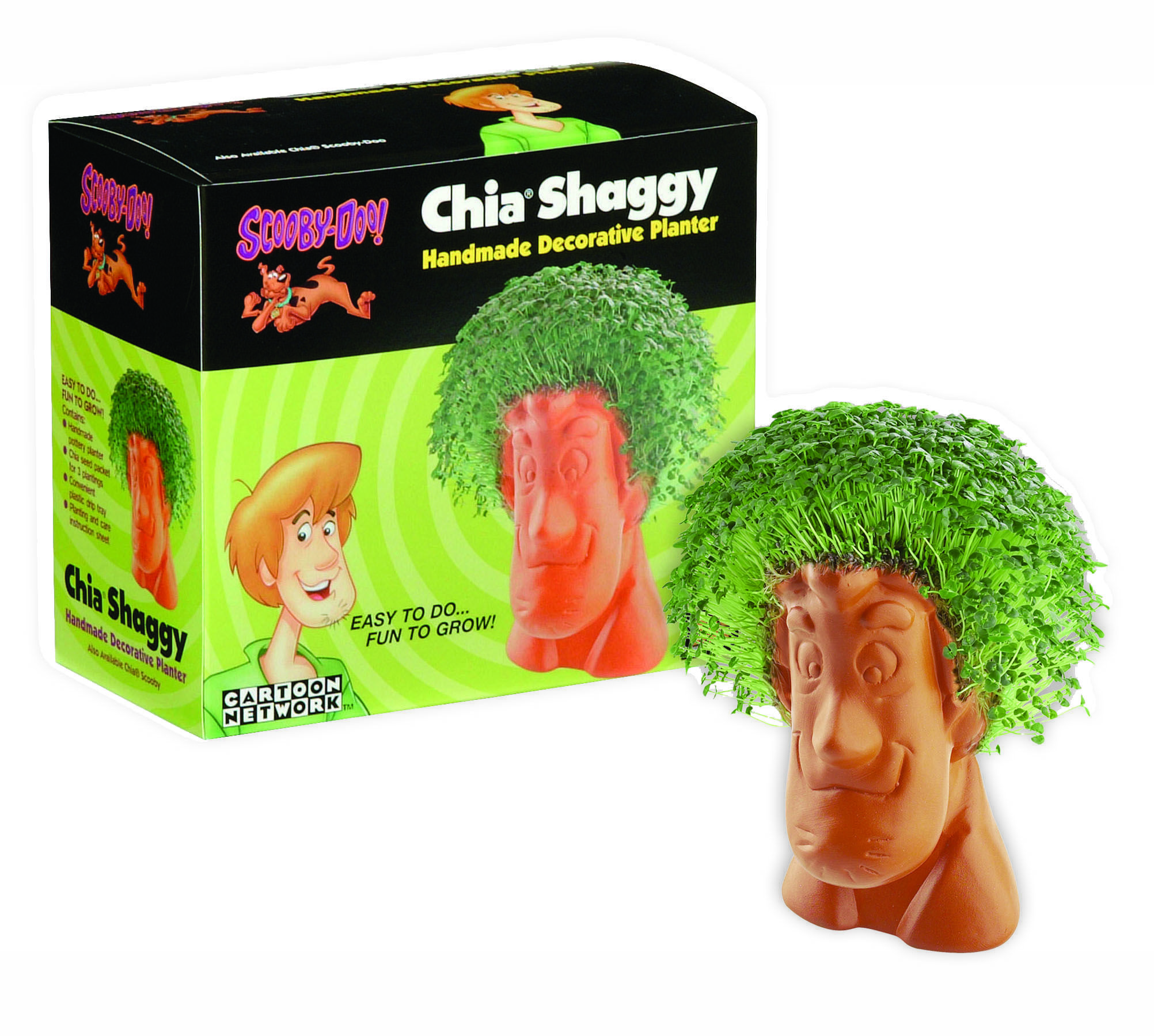 Chia Shaggy Discontinued Chia Pet Obama Chia Pet Garden Gifts