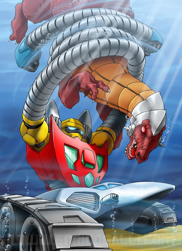 Getter Robot 3 By Enricogalli Mecha Anime Robot Old Cartoon Movies