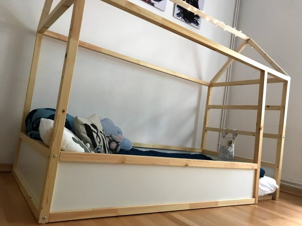 DIY Hausbett mit Rausfallschutz - IKEA Kura Hack