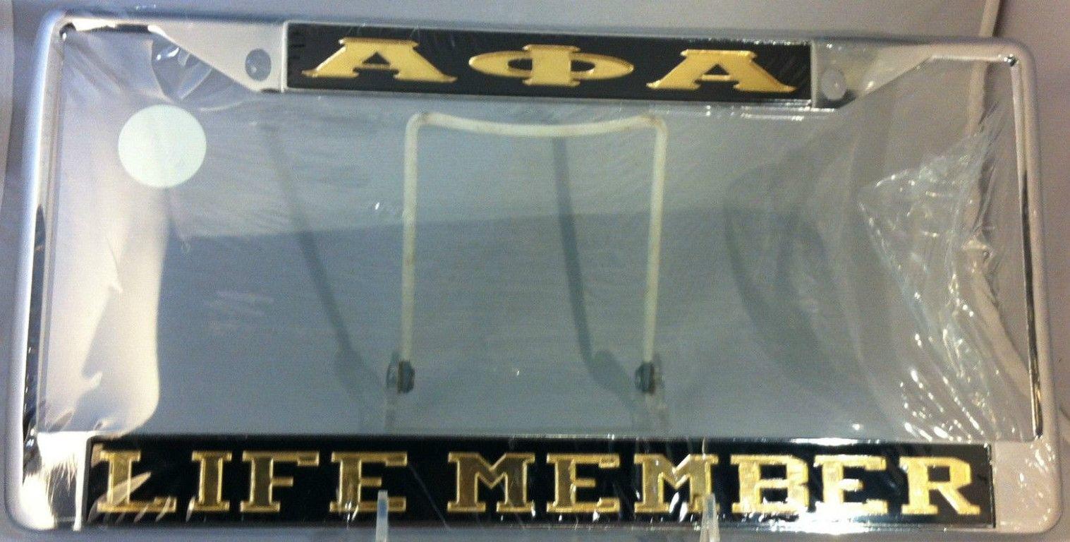 ALPHA PHI ALPHA LIFE MEMBER TAG FRAME | Alpha Phi Alpha | Pinterest ...