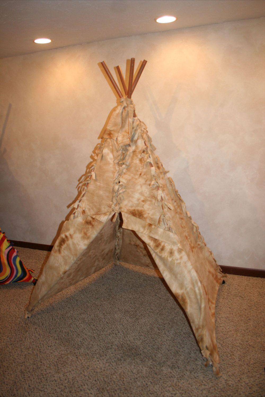 Custom Small Children's Teepee by MontanaBundleUp on Etsy, $140.00