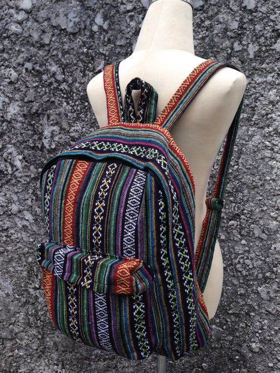 bc795d1bfa Big Boho Tribal Backpack Hobo Aztec Ethnic Hippies Ethnic Styles ...
