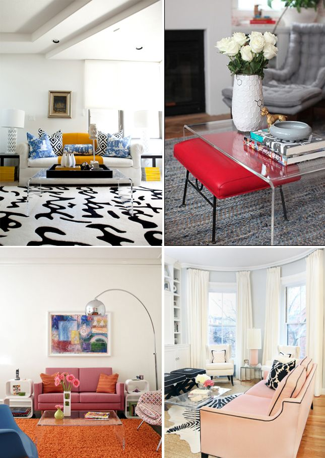 So Many Ways To Style Wwwgoodbonesgreatpiecescom Apartment - Cb2 peekaboo coffee table