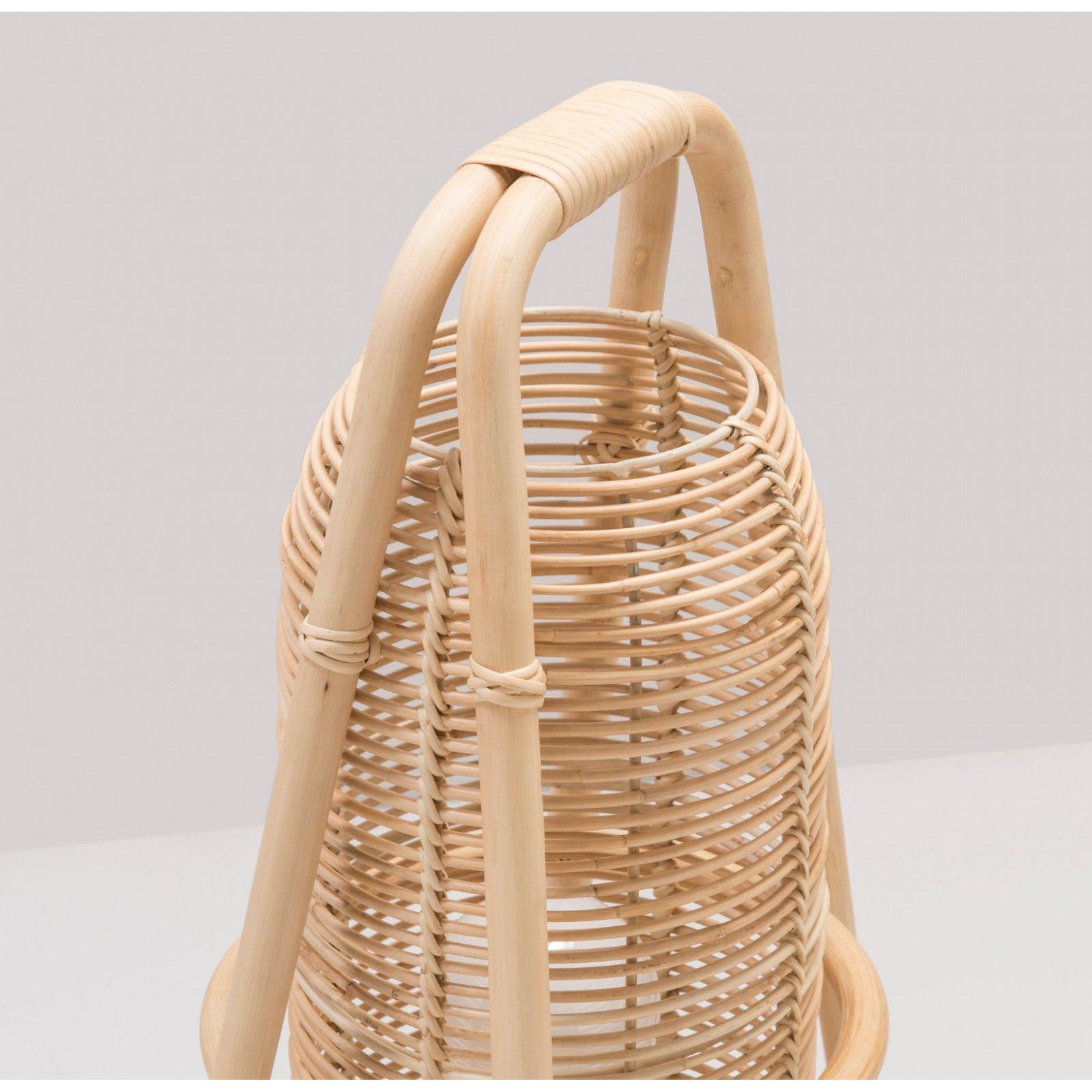 À En Nacelle Lampe Design Poser 2019Products Rotin kZOPXiu