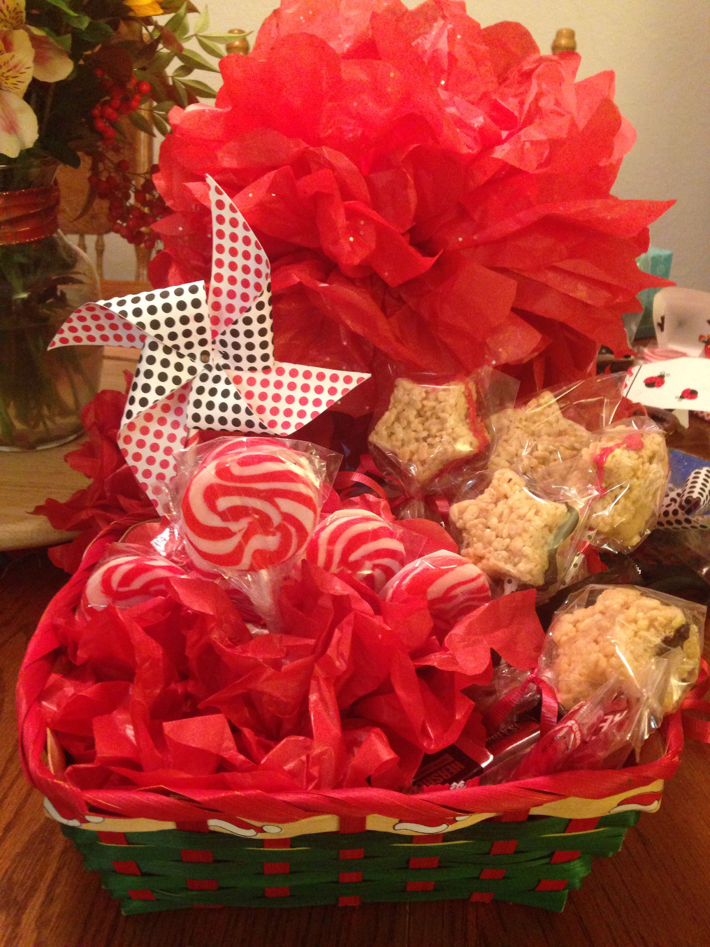 Little Secret Santa Basket